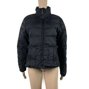 Obermeyer Circuit Down Jacket Coat Puffer Black